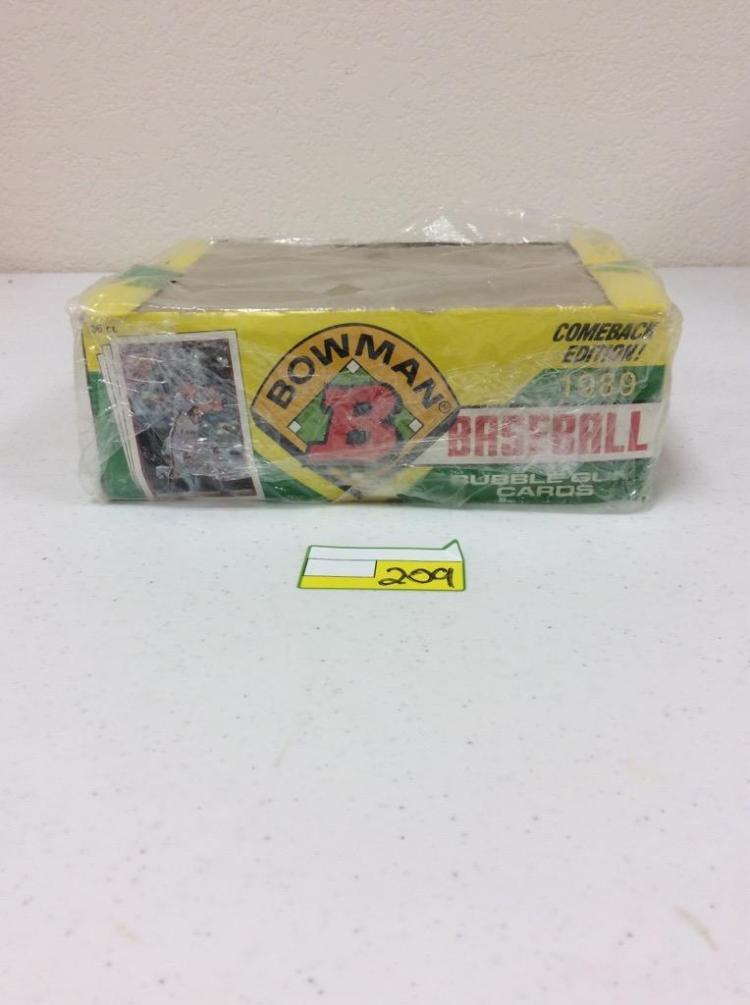 1989 Bowman Bubble Gum Card Pack Comeback Edition