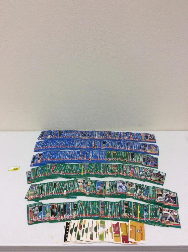 1991 Donruss Complete Set