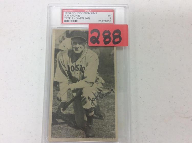 1936 Goudey Premiums - Joe Cronin
