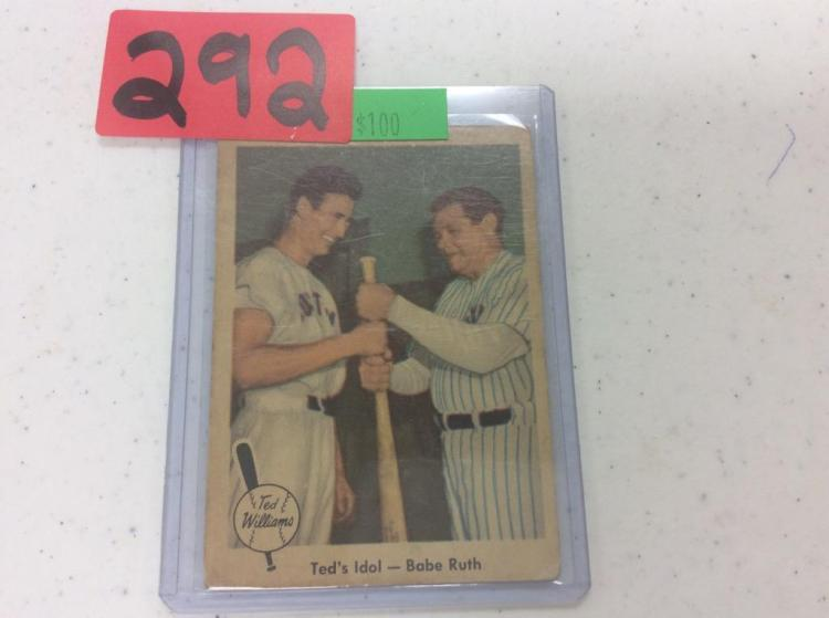 1959 Fleer - Ted Williams - Babe Ruth