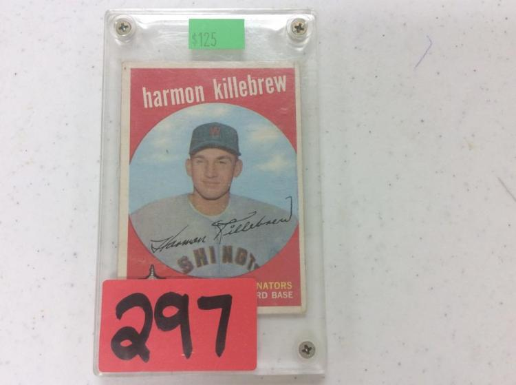1955 Topps Harmon Killebrew - Washington Senators Third Base
