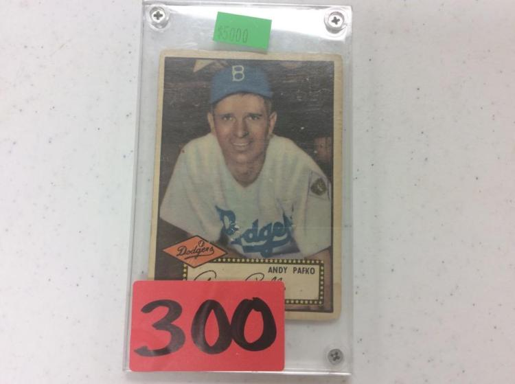 1952 Topps Andy Pafko - Dodgers