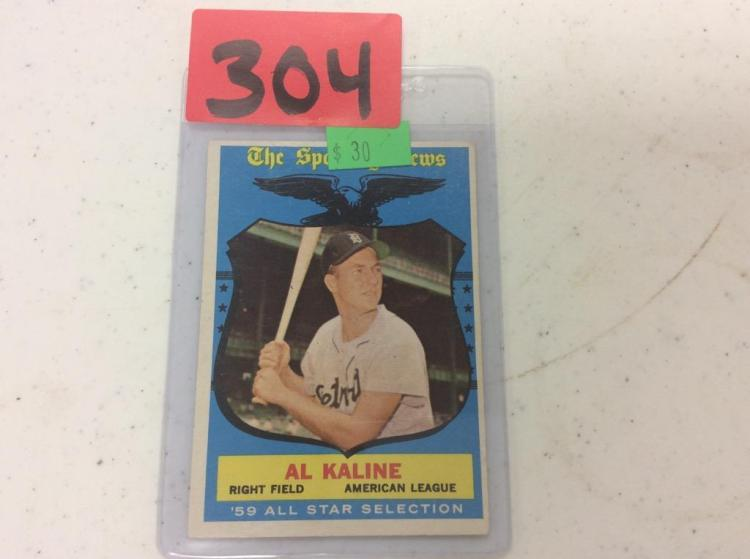 1959 Topps Al Kaline - '59 All Star Selection