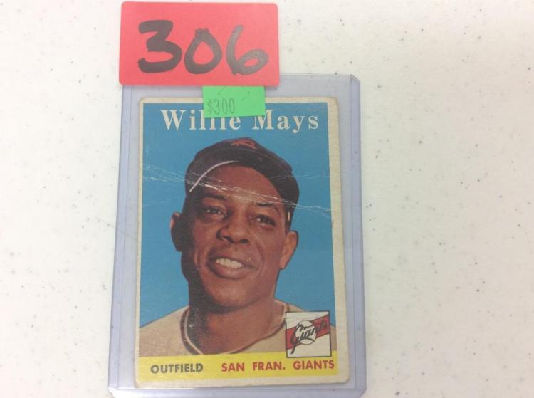 1958 Topps Willie Mays - San Fran. Giants