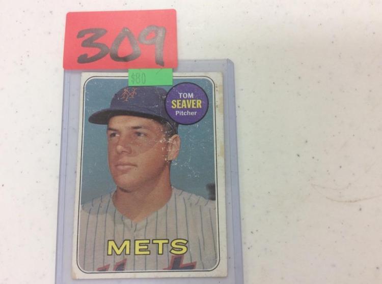 1969 Topps Tom Seaver - Mets