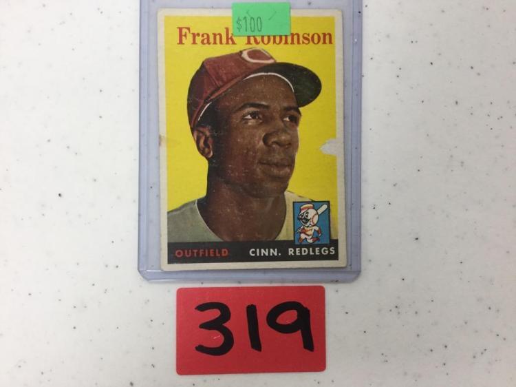 1958 Topps Frank Robinson 285