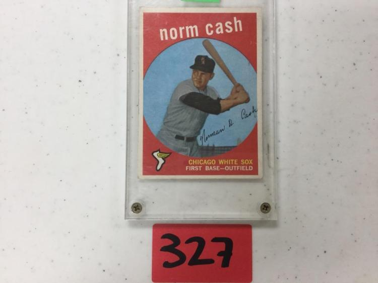 1959 Topps Norm Cash 509