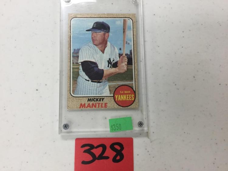 1968 Topps Mickey Mantle 280