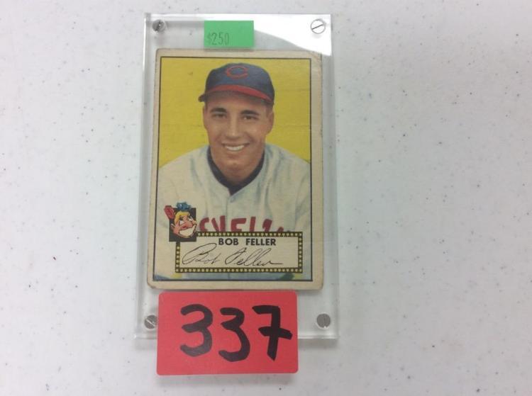 1952 Topps 88 Bob Feller