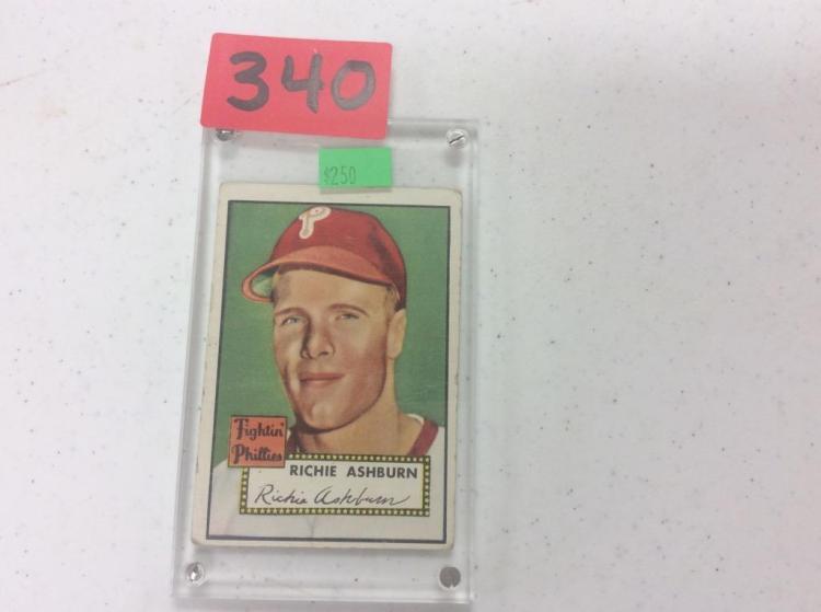 1952 Topps 216 Richie Ashburn