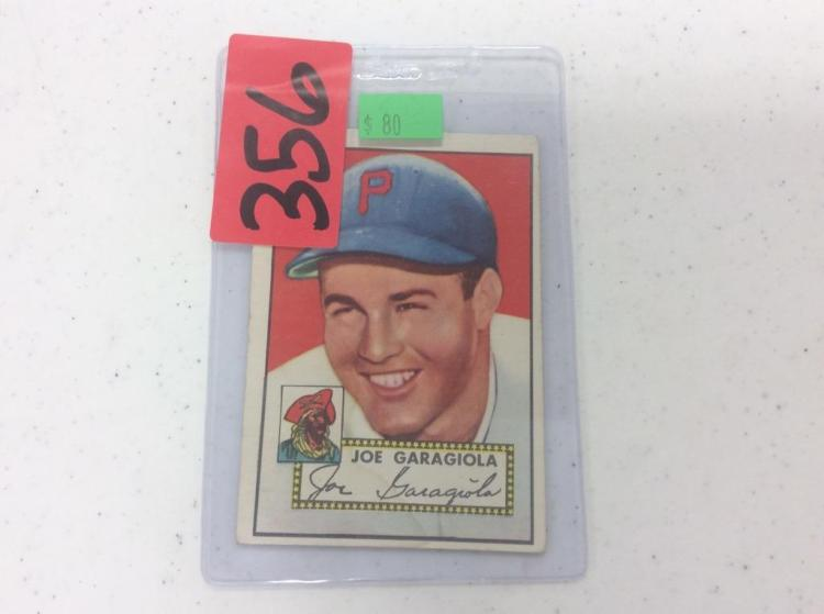 1952 Topps 227 - Joe Garagiola