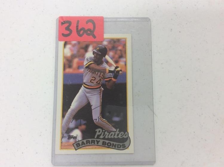 1989 Topps 106 - Barry Bonds