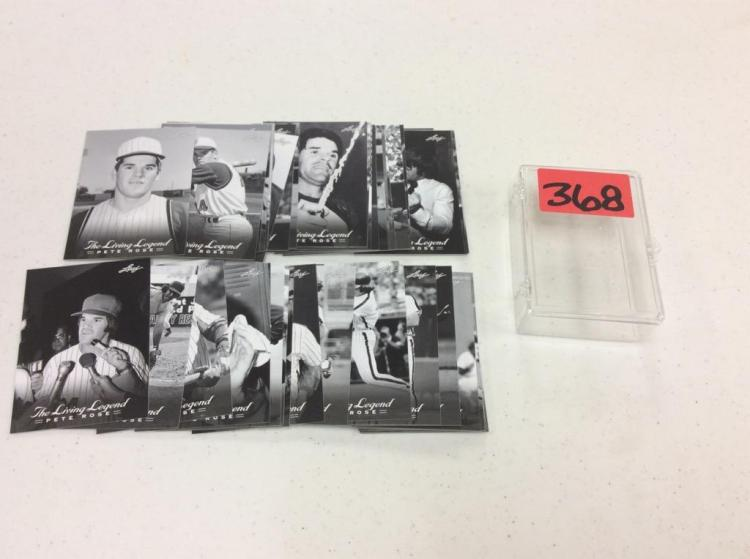 The Living Legend Pete Rose #1-50 - Complete Set
