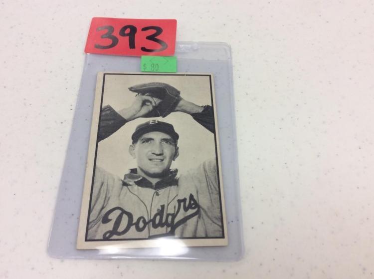 1953 Bowman 52 - Ralph Branca