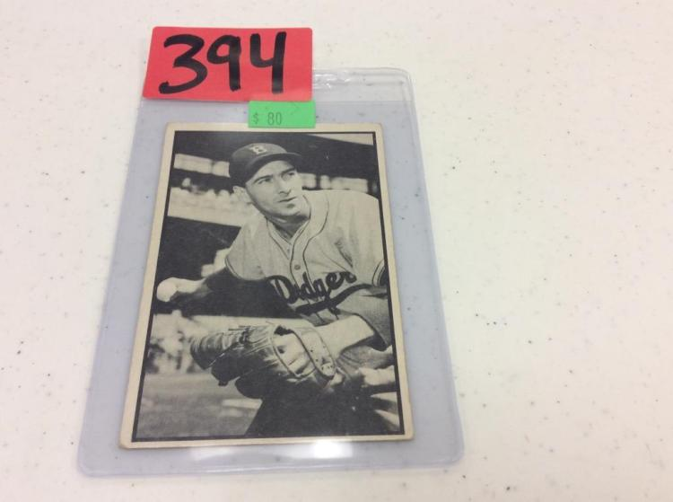 1953 Bowman 60 - Billy Cox