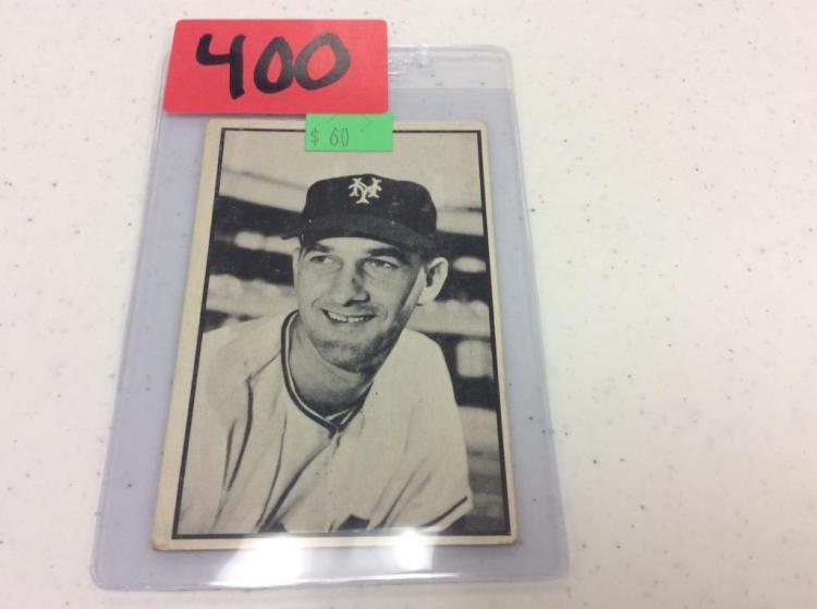 1953 Bowman 40 - Larry Jansen