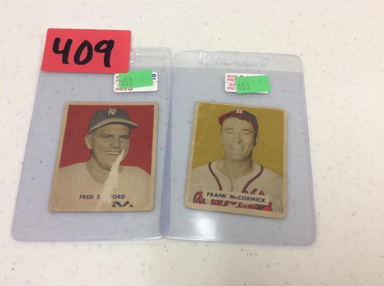 1949 Bowman No. 236 & 239