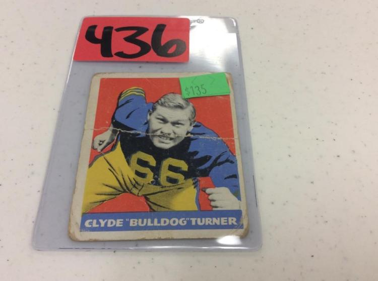 1948 Leaf Gum 3 - Clyde (Bulldog) Turner