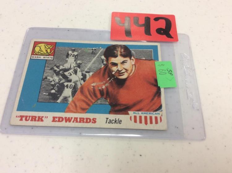 1955 Topps 36 Turk Edwards