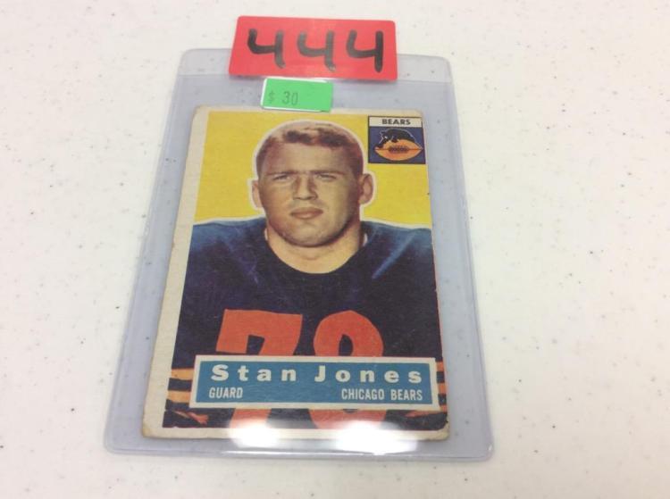 1956 Topps 71 - Stanley Jones