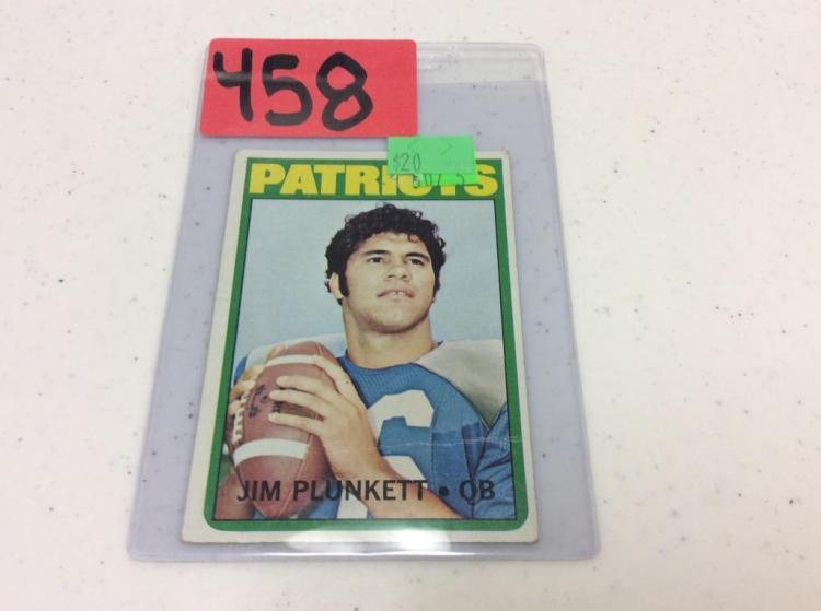 1972 Topps 65 - Jim Plunkett