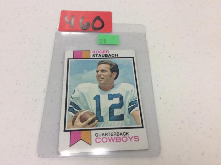 1973 Topps 475 Roger Staubach