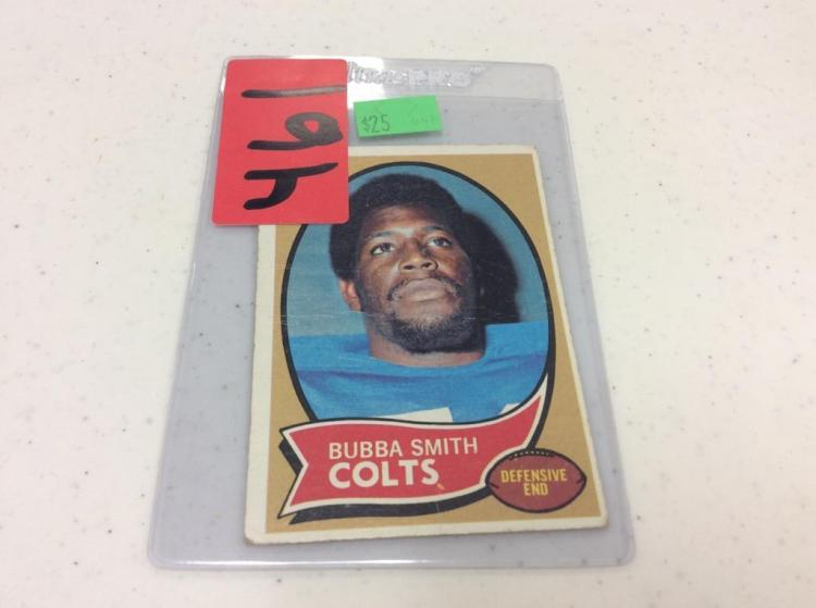 1970 Topps 114 Bubba Smith