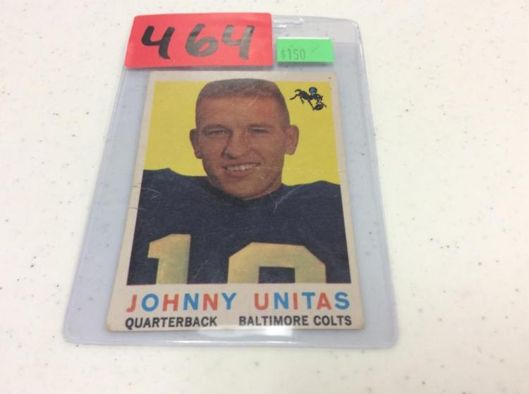 1959 Topps 1 - John Unitas