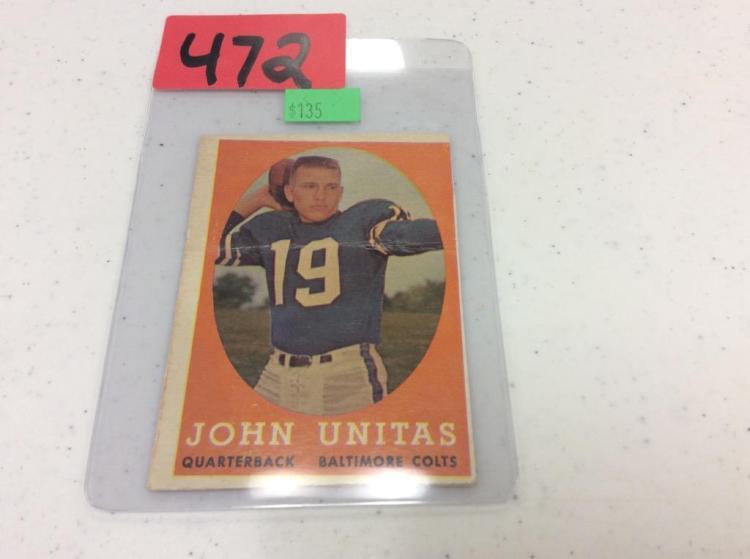 1958 Topps 22 John Unitas
