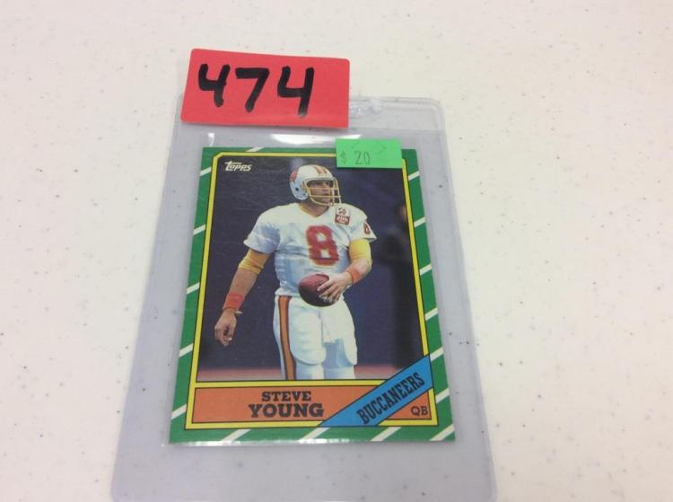1986 Topps 374 Steve Young