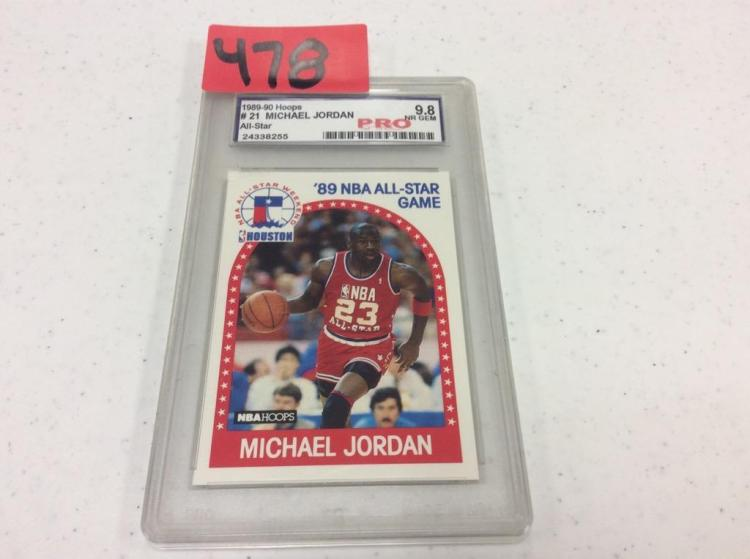 1989 Hoops #21- Michael Jordan