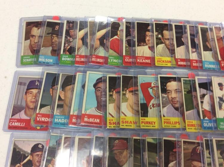 1963 Topps (90+) - All For One Money