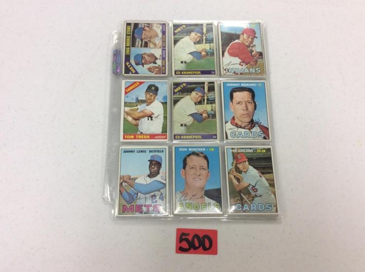 1966-67 Topps (45) - All For One Money