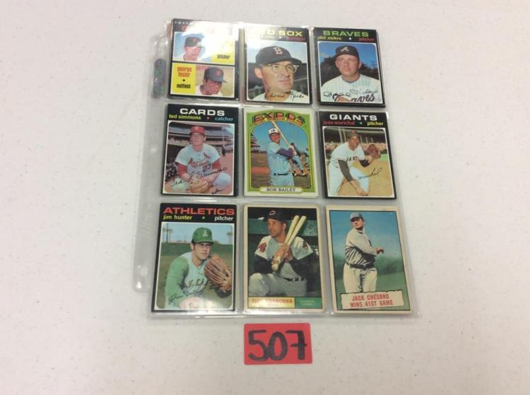 1960's Topps (27) - All For One Money