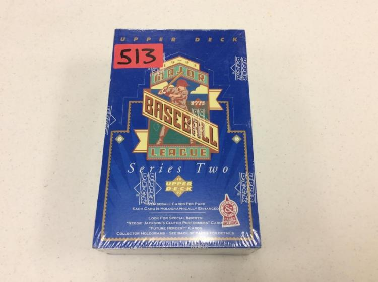 Upper Deck 1993 Major League Baseball Series Two - Unopened