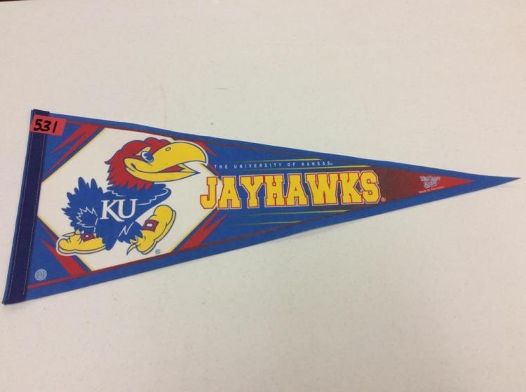 The University of Kansas Jayhawks Pennant