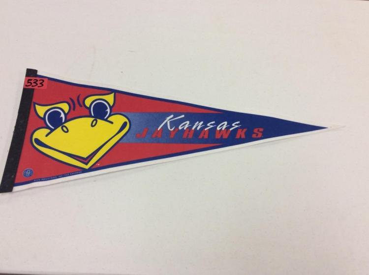 Kansas Jayhawks Pennant