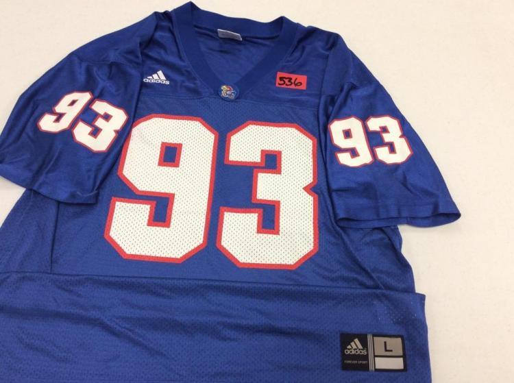 Large KU Jersey #93