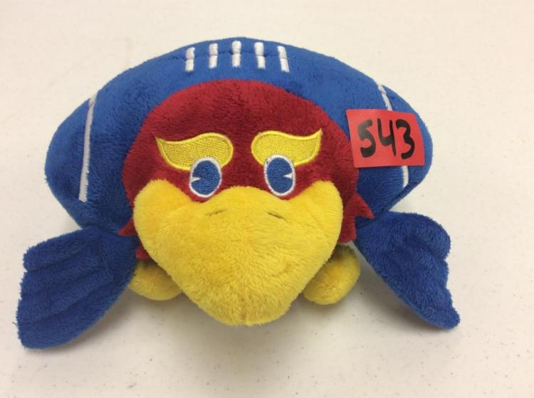 KU Football Orbiez Plush