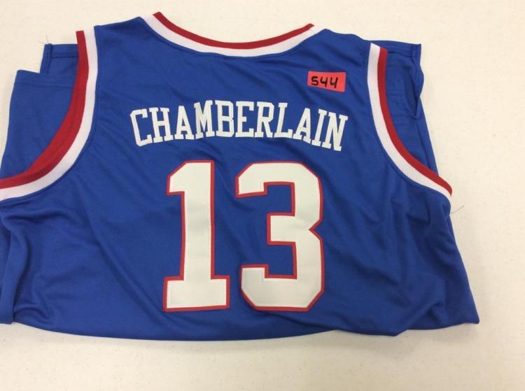 XL Kansas #13 Chamberlain Jersey