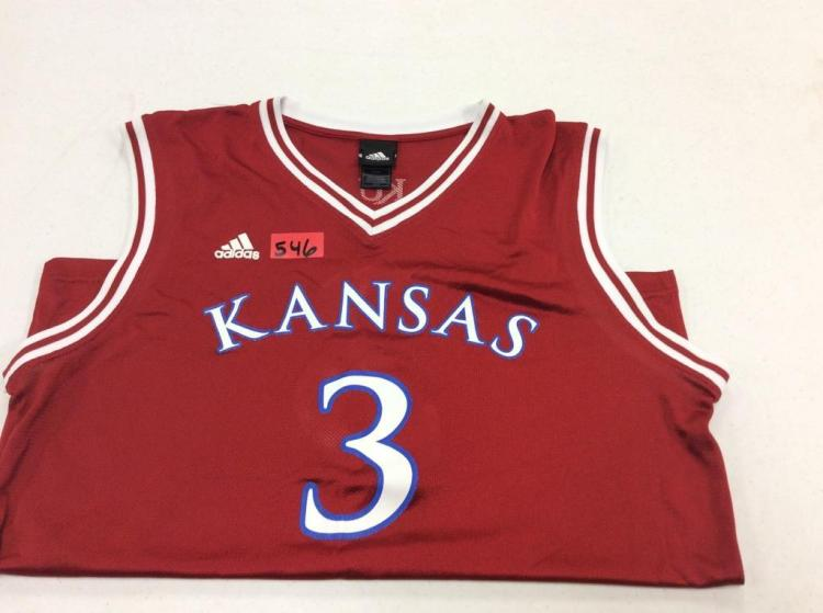 Large KU Basketball Jersey #3