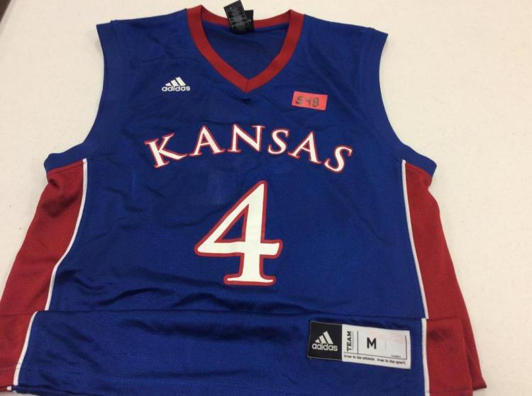 Medium KU Basketball Jersey #4