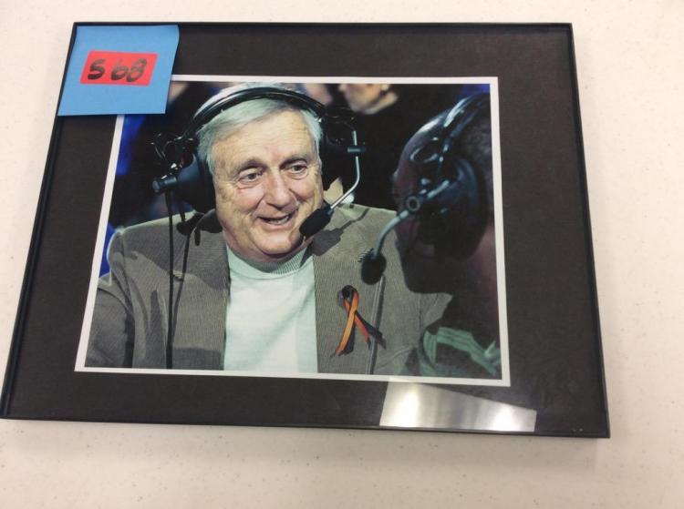 14X11 Framed Picture of Announcer