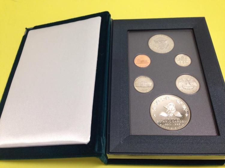 1997 Botanic Gardens Prestige Proof Coin Set United States Mint