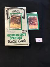 Michigan State Trading card box 31 unopened packs