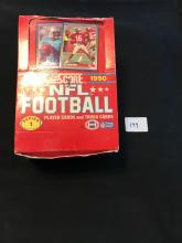 1990 Score Series 1 wax box with 34 unopened Packs