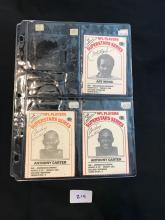 1986 Dairy Pak milk Carton Cards lot of 3