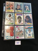 1970â??s-80â??s Topps lot of 18 cards nice condition