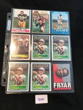 Great collection of 70â??s and 80â??s stars 18 cards