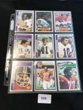 1970â??s 80â??s Topps lot of 27 assorted cards great condition